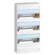 Coffret Drivia 13 modules - 3 rangées - IP30 - IK05 - Blanc RAL 9003