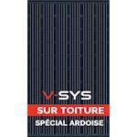 Kit R-Volt On Top PV 300Wc - 2X300Wc mono full black - sur-toiture ardoise