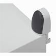 Pattes de fixation murale (4) - pour coffret Marina H. 400 à 1200 mm - 150 kg