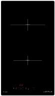 Domino vitrocéramique 30 cm - 2 High-Light - 3 kW - Commandes sensitives - 2 min