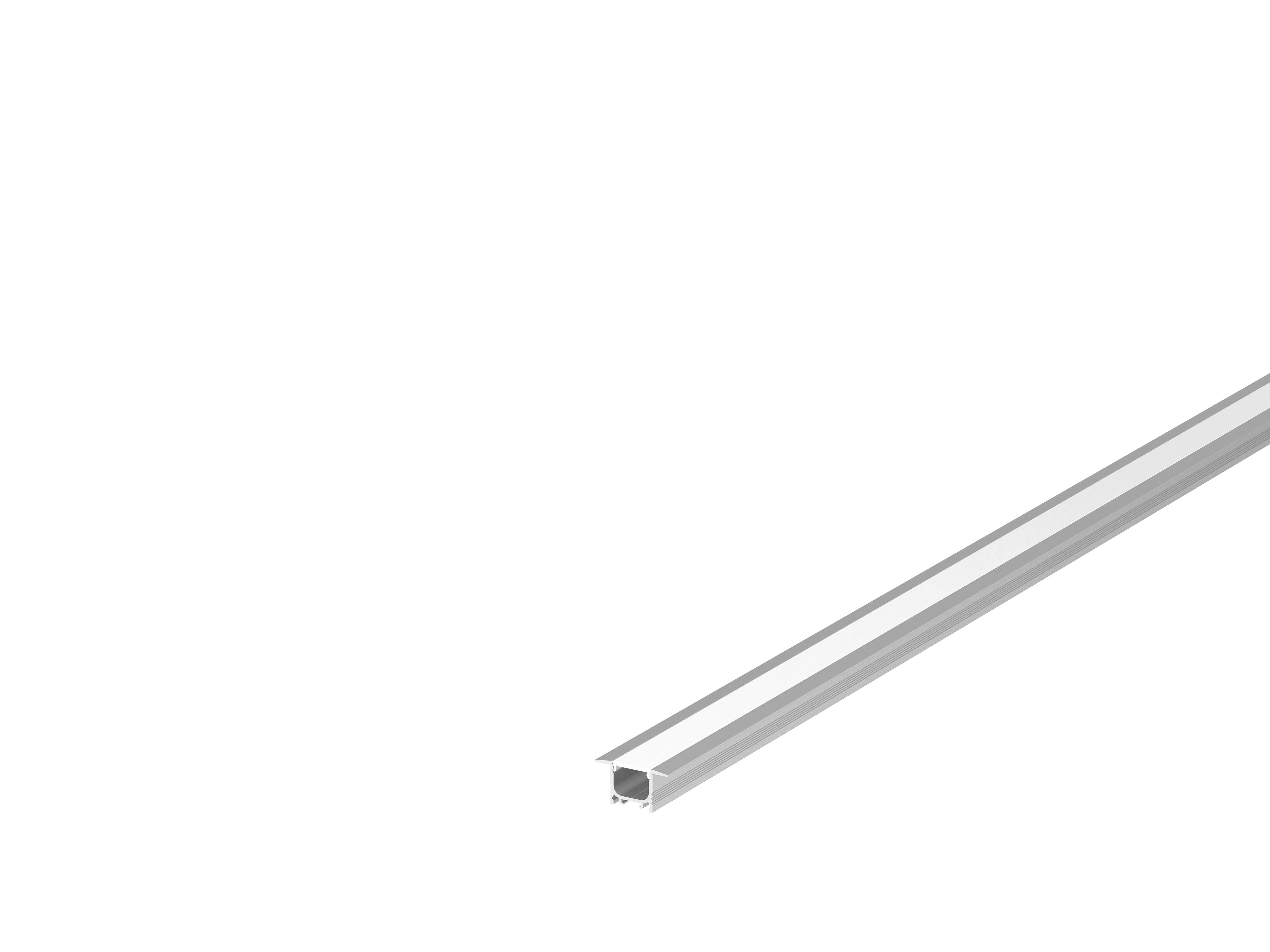 Bandeau Led Encastrable Plafond slv 1000457 | grazia 10 profil led encastré, 2m, alu anodisé