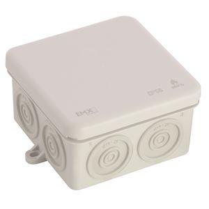 (x 50) Boîte de dérivation IP55 80 x 80 couvercle clipsé
