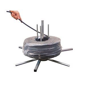 SATELLITE : dérouleur démontable pour couronne de câble ou de gaine, D=maxi 750m