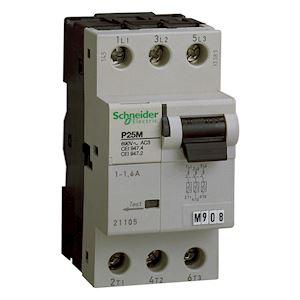 P25M - disjoncteur moteur - 23A - 3P 3d - déclencheur magnéto-thermique