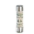 Cartouche industrielle cylindrique - aM - 8,5x32 - sans voyant - 4 A