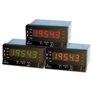 VOLTMETRE/AMPEREMETRE (TRMS) AC/DC TRICOULEUR 85-265VAC/100-300VDC