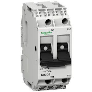 TeSys GB2-DB - disjoncteur pour circuit de contrôle - 1A - 2P - 2d