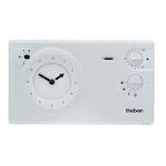 Thermostat d'ambiance  programmable avec réserve de marche 24h 7j