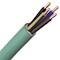Câble FR-N1X1G1 LSOH sans halogène cuivre 4X25 vert à la coupe