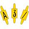 vignette format 6 x 11mm lettre w