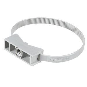 Mureva FIX, instacables pour conduits D=40-63 mm, gris