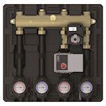 Module hydraulique compact pour 2 circuits chauffage