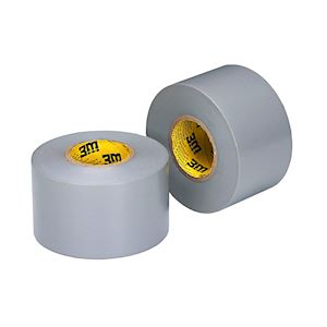 3M' Ruban vinyle d'étanchéité VMC 33m x 50mm Gris