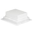 Boîte d'encastrement plastique - pour boîte de sol 12 mod ou haut. 65 mm 10 mod