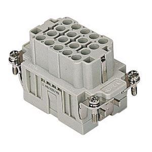 INSERT FEMELLE A SERTIR 16A 500V 18P+T GAB 57.27