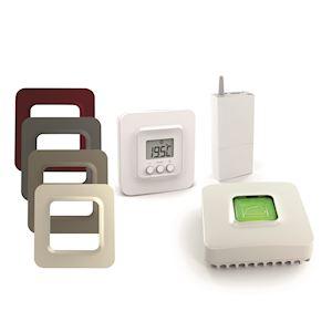 Pack TYBOX 5100 Connecté - thermostat pour chaudiere ou pac - 5 coloris