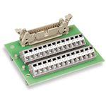 Module interface HE10 20 pôles sur pied sans boîtier