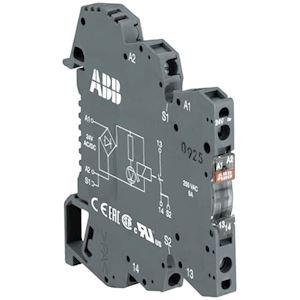 Rb121A-24VAC/DC Relais d'Interface R600 1C/O,A1-A2=24VAC/DC,250V/1Ma-6A,Led