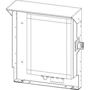 support terrasse axone 190mm