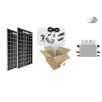 Kit Solaire clé en main RT2012-600W- 2 PV 300W mono- micro-ond toit plat