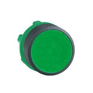 Harmony XB5 - tête bouton poussoir - affleurant - D=22 - vert