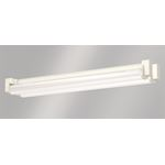 Luminaire apparent ERFURT LED EXTREME m1200, PC, très intensif, 8060lm 56W
