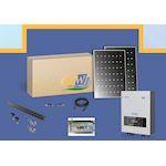 Kit Solaire clé en main string 6W-20 PV 300W-toit tuile ETN-Coffret AC/DC