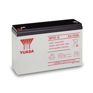 Batterie stationnaire étanche au plomb NP 10Ah 6V ' bac standard