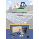 Kit Solaire clé main RT2012-600W-2 PV 300W-micro-ond toit tuile ETN-Coffret AC