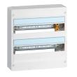 Coffret Drivia 18 modules - 2 rangées - IP30 - IK05 - Blanc RAL 9003