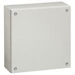 Boîtier industriel Atlantic métal carré IP66 IK10 - 150x150x80mm - RAL7035