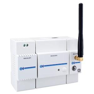 Kit radio modulaire : Contrôleur EC2M + alim + module IO