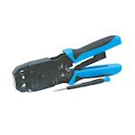Pince à sertir pour fiches RJ45 2 points de sertissage en acier haute résistance