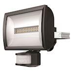 Projecteur LED+détec 20w noir