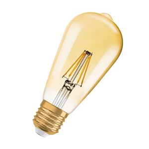 BTE1 1906 LED EDISON FILOR 4,5W=34E27OSR