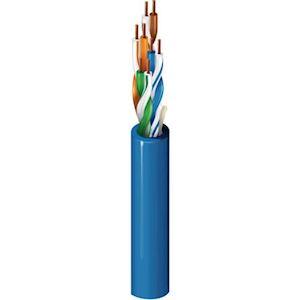 DATA 4P UTP PVC 350MHZ.500M BLEU ECA
