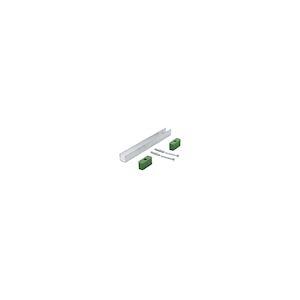 Profilé inférieur de guidage pour vantaux avec bâti
