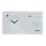 Thermostat d'ambiance  programmable 2/3 fils 24h 7j