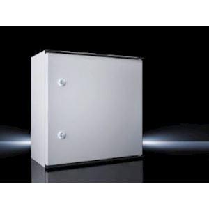 Coffret polyester avec PM RAL 7035L400H600P200