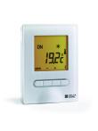 MINOR 12 - Thermostat d'ambiance rétro éclairé digital semi-encastré pour plancher
