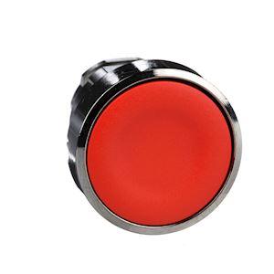 Harmony XB4 - tête bouton poussoir - D=22 - affleurant - rouge