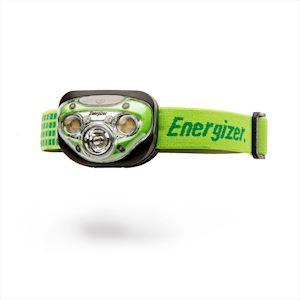 ENERGIZER VISION HD+ VERTE 3AAA. Frontale disposant de 4 modes d'éclairage  5 LE