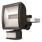 Projecteur LED+détec 10w noir