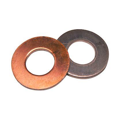 25 x Rondelle de cuivre 21x26x1,5mm