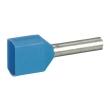Embout de câblage Starfix - pour conducteurs section - 2x0,75 mm² - bleu