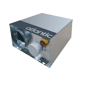 Critair ec 500 pci - caisson d'extraction basse consommation isole petit local