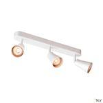 AVO TRIPLE, applique et plafonnier, triple, QPAR51, blanc, max. 3x50W