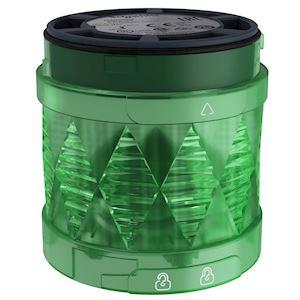 Harmony XVU - élément lumineux D=60 - DEL - fixe - 24VDC - vert