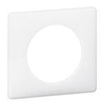 Plaque Céliane Laqué 1 poste - finition Yesterday ( blanc )