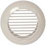 Grille plastique fixe BIP D 80 mm - Blanc